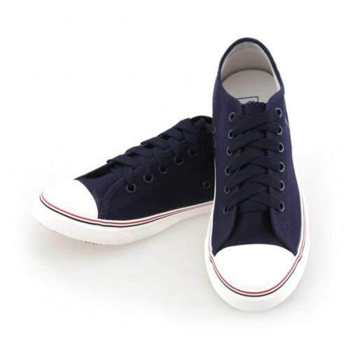 โกลด์ซิตี้ รองเท้าผ้าใบ สำหรับสตรี รุ่น NO017 สีกรมท่า ขนาด 36