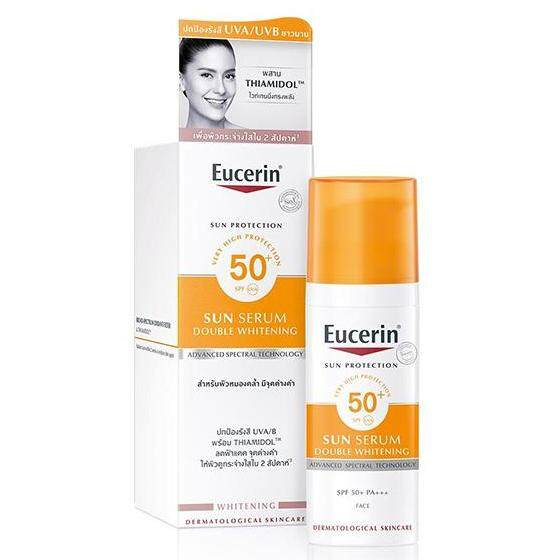 Eucerin Sun Double White Serum ยูเซอรีน ซัน ดับเบิ้ล ไวท์ ซีรั่ม 50ml.