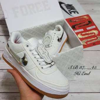 รองเท้าผ้าใบNike Air Force 1 Travis Scott-
