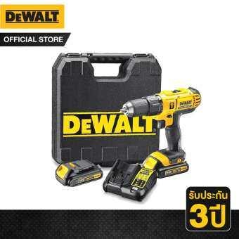 DeWALT สว่านไร้สาย DCD771C2 18V-