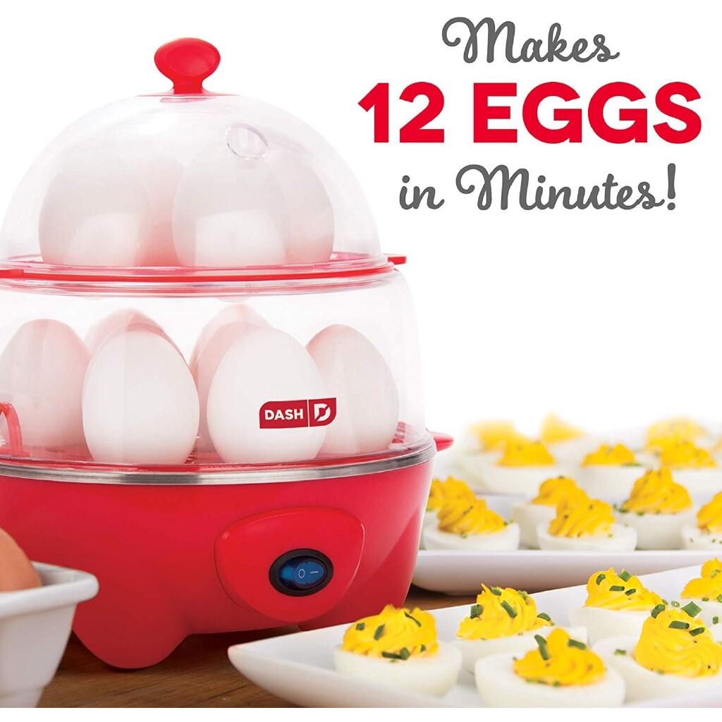 Deluxe Rapid Egg Cooker Electric 12 ความสามารถในการต้มไข่เจียวต้มยำผักต้ม.