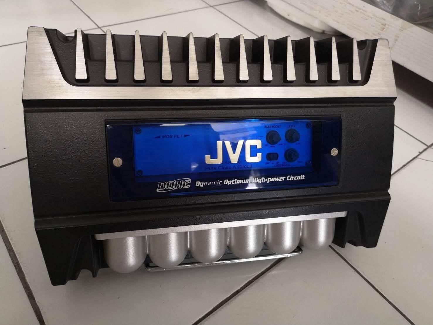 JVC Bridgeable 2CH Amplifier 600W Max
