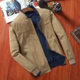 โปรโมชั่น เสื้อแจ็คเก็ตผู้ชายแบบบาง ผ้าฝ้าย ไซส์ใหญ่ 0015 สีเหลืองสีน้ำตาลเบสบอลปก 0015 สีเหลืองสีน้ำตาลเบสบอลปก Other ใหม่ล่าสุด