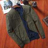 ขาย เสื้อแจ็คเก็ตผู้ชายแบบบาง ผ้าฝ้าย ไซส์ใหญ่ 0015 กองทัพสีเขียวแจ็คเก็ตเบสบอลปก 0015 กองทัพสีเขียวแจ็คเก็ตเบสบอลปก ถูก ใน ฮ่องกง