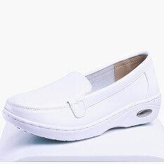 ราคา รองเท้าAir Cushion ผู้หญิง รองเท้าส้นเตารีด Xinyin100 สีขาว 003 ด้านล่างอากาศ 003 ด้านล่างอากาศ