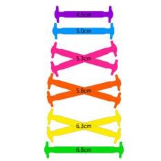 ราคา 1 คู่ผู้ใหญ่ไม่มีเชือกผูกรองเท้ายางยืดยืดหยุ่นได้หลากสี เป็นต้นฉบับ Bolehdeals