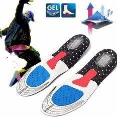 ราคา 1 คู่ไม่จำกัดเพศอีวา Orthotic Shocker สนับสนุนกีฬารองเท้าเบาะรองเท้าวิ่งเจล Insoles แทรกเบาะเบาะ Insoles Palmilha รองเท้าผ้าใบสามารถคัตเตอร์ นานาชาติ Unbranded Generic เป็นต้นฉบับ