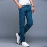 ราคา 10 Colors Men Thin Pant Business Or Casual Style Trousers Straight Long Pants Lake Blue Intl เป็นต้นฉบับ Unbranded Generic