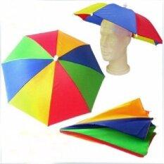 ขาย หมวกร่ม กันแดด กันฝน เกร๋ๆ ใส่ออกแดด ใส่ทำกิจกรรมกลางแจ้ง 11 นิ้ว Unbranded Generic ออนไลน์