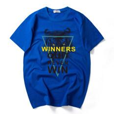 โปรโมชั่น 12 วัยรุ่นเสื้อเสื้อยืดหนุ่มใหญ่แขนสั้น สามเหลี่ยมเสือสีฟ้า Other ใหม่ล่าสุด