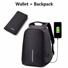 ซื้อ 15 6 Inch Computer Bag Anti Theft Backpack Wallet Chest Pack City Leisure Bag Schoolbag Computer Camera Bag With Usb Charging Outdoor Bag Unbranded Generic ออนไลน์