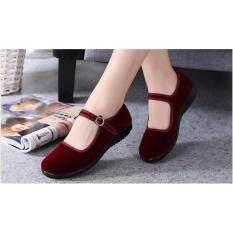 ความคิดเห็น รองเท้าหนังกลับสำหรับผู้หญิง รุ่น 166 มี 2 สี ให้เลือก