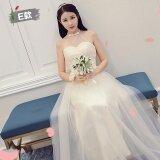 ส่วนลด เกาหลีสลิมจัดงานแต่งงานเพื่อนเจ้าสาวส่วนยาวชุดเดรสชุดเพื่อนเจ้าสาว 168 ส่วนยาวแชมเปญ E รุ่น Unbranded Generic ใน ฮ่องกง