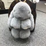 ราคา ซูเปอร์เม้งตุ๊กตากระต่ายขนกระต่ายขนาดเล็กถุงรถพวงกุญแจ สีเทาอ่อน ธรรมดารุ่น 18 Cm ใหม่ล่าสุด