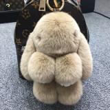 ส่วนลด ซูเปอร์เม้งตุ๊กตากระต่ายขนกระต่ายขนาดเล็กถุงรถพวงกุญแจ อูฐ ธรรมดารุ่น 18 Cm
