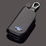 ขาย 1Pc Genuine Leather Men Car Key Cover Holder Key Wallet Car Key Case For Ford Focus 2 3 Fiesta Mondeo Ecosport Kuga Drl Intl Unbranded Generic ใน จีน