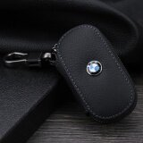 ทบทวน 1Pc Leather Key Wallet Car Key Case For For Bmw E90 F10 F30 E34 F20 X5 E53 E30 X6 X1 X3 E46 E39 Black Intl