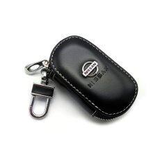 ราคา 1Pc Leather Key Wallet Car Key Case For Nissan Black Intl ใหม่ ถูก