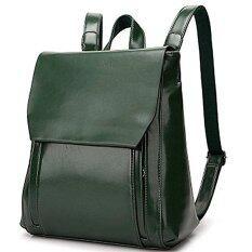 ซื้อ หญิงชื่อดังยี่ห้อมานซูร์ Gavriel 2559 หนังแท้หนังกระเป๋าเป้กระเป๋าเป้กระเป๋านักเรียนหนังแท้สุภาพสตรี สีเขียว ใหม่ล่าสุด
