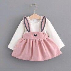 ซื้อ 2017 Autumn G*rl Princess Dress Long Sleeved Dress Baby Children S Wear Female Baby Skirt Intl จีน