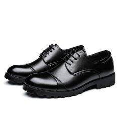 ขาย 2017 Elegant Men Business Shoes Men Wedding Shoes Mens Formal Derby Dress Formal Meeting Shoes Intl ผู้ค้าส่ง