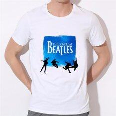ราคา 2017 Hot Fashion Men T Shirts Summer Designer T Shirts O Neck Short Sleeve The Beatles Tshirts Asian Size Tees 40N 9 Diy T Shirt For Men White Intl Diy ออนไลน์