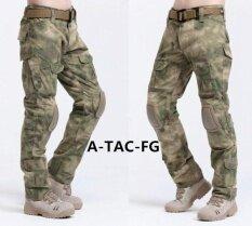 ขาย ซื้อ 2017 Hot Sale Cargo Pants Camouflage Tactical Army Pants Combat Multicam Militar Tactical Pants With Knee Pads S Fg Intl