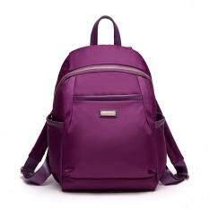 ราคา 2017 Korean Version Of The Nylon Woman Bag Shoulder Women Bag Simple Wild Leisure Travel Backpack Female Canvas Student Bag Intl ใหม่ ถูก