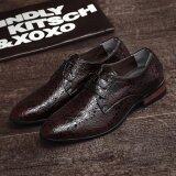 ซื้อ 2017 ใหม่มาถึงฤดูใบไม้ผลิหรูยี่ห้อผู้ชายรองเท้า Oxfords รองเท้าธุรกิจที่มีคุณภาพสูงดาร์บี้รองเท้าชุด นานาชาติ จีน