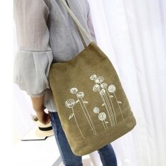 2017 New Fashion Spring And Summer Shoulder Bag Canvas WomenHandbags Bucket Ladies Hand Bags Casual Floral