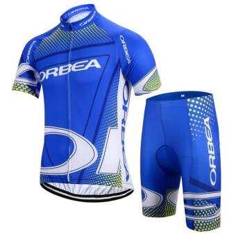 2017 ทีม Orbea ผู้ชาย Pro เสื้อเจอร์ซีย์นักปั่นชุดจักรยานเสือภูเขากีฬาแข่งเสื้อผ้าปั่นจักรยาน-
