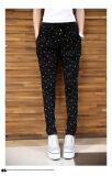 ราคา 2017 Spring Summer Plus Size Women Fashion Casual Loose Tie Elastic Waist Pencil Big Large Size Harem Pants Trousers Xxl Black Intl ใน จีน