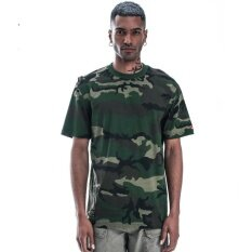 ทบทวน 2017 Tide Brand Summer Men S Military Camouflage Men S Short Sleeved Cotton T Shirt Army Green Intl Zmgang