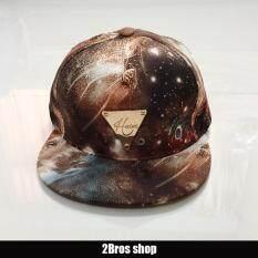 ขาย 2Bros หมวกแฟชั่นสไตล์เกาหลี ลาย Hater สีน้ำตาล No ใน กรุงเทพมหานคร