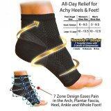ขาย 2Pcs 1 Pair Foot Ankle Compression Socks Anti Fatigue Varicose Feet Sleeve Intl ผู้ค้าส่ง