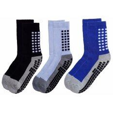 ขาย ถุงเท้ากีฬา ถุงเท้ากันลื่น ถุงเท้าฟุตบอล ถุงเท้าโยคะ และกีฬาต่างๆ แพ็ค 3 คู่ Songbai เป็นต้นฉบับ