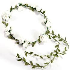 ราคา 3 Flower Banquet Headband Hair Accessories Wedding Floral Head Garland Wedding Headband White Unbranded Generic เป็นต้นฉบับ