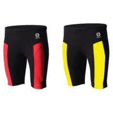 ราคา กางเกงว่ายน้ำตัดต่อขา3ส่วน Spin Sm200 ดำแดง Spin ออนไลน์