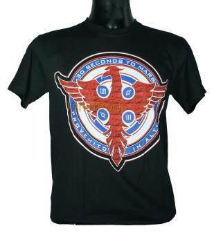 เสื้อวง 30 SECONDS TO MARS เสื้อยืดวงดนตรีร็อค เสื้อร็อคTS810 ส่งจากไทย
