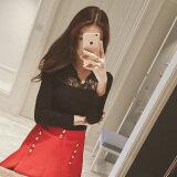 ราคา Xian Wan Shi เสื้อผ้าลูกไม้หญิง แขนยาว เข้ารูป สีพื้น สีดำ 301 รุ่น สีดำ 301 รุ่น Unbranded Generic