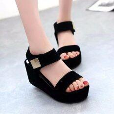 ซื้อ รองเท้าผู้หญิง ไฮโซ สีดำ เบอร์ 38