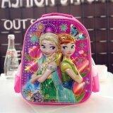 ซื้อ 3D ขนาดเล็กกระเป๋านักเรียนโรงเรียนอนุบาลถุงทารก ขเจ้าหญิงสีชมพู ออนไลน์ ถูก