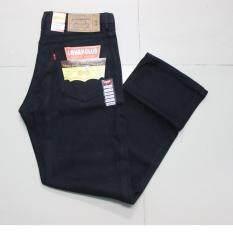 ซื้อ กางเกงยีนส์ซุปเปอร์แบล็คสีดำ ขากระบอกกระดุม รุ่น 506 Lg5 ออนไลน์