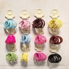 ขาย 50Pcs Women Girls Elastic Ponytail Holders Hair Tie Rope Rubber Bands Random Color Intl Unbranded Generic