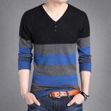 ขาย เสื้อยืดฤดูใบไม้ร่วงใหม่เสื้อเล็กๆเกาหลีถัก 5928 สีดำ เป็นต้นฉบับ