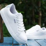 ส่วนลด รองเท้าสเก็ตบอร์ดผู้ชาย สไตล์เกาหลี รองเท้าลำลอง เหมาะกับนักเรียน 6169 มะนาว 6169 มะนาว