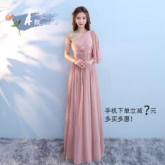 ซื้อ ฤดูใบไม้ผลิใหม่เพื่อนเจ้าสาวแต่งตัวชุดเพื่อนเจ้าสาว ถั่วแดงวางผง 623A รุ่น ออนไลน์ ฮ่องกง