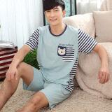 วอร์มผ้าฝ้ายชุดนอนชายในช่วงฤดูร้อนของผู้ชาย 6604 ชายผ้าฝ้าย ใน ฮ่องกง