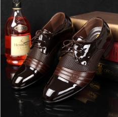 ขาย อังกฤษชายใหม่ชี้แบนลำลองรองเท้าฤดูใบไม้ผลิรองเท้า สีน้ำตาล 7 22 Other ผู้ค้าส่ง