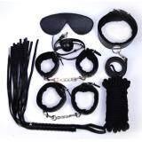 ซื้อ อุปกรณ์คอร์สเพล ในการแสดง รวม7ชนิด สีดำ